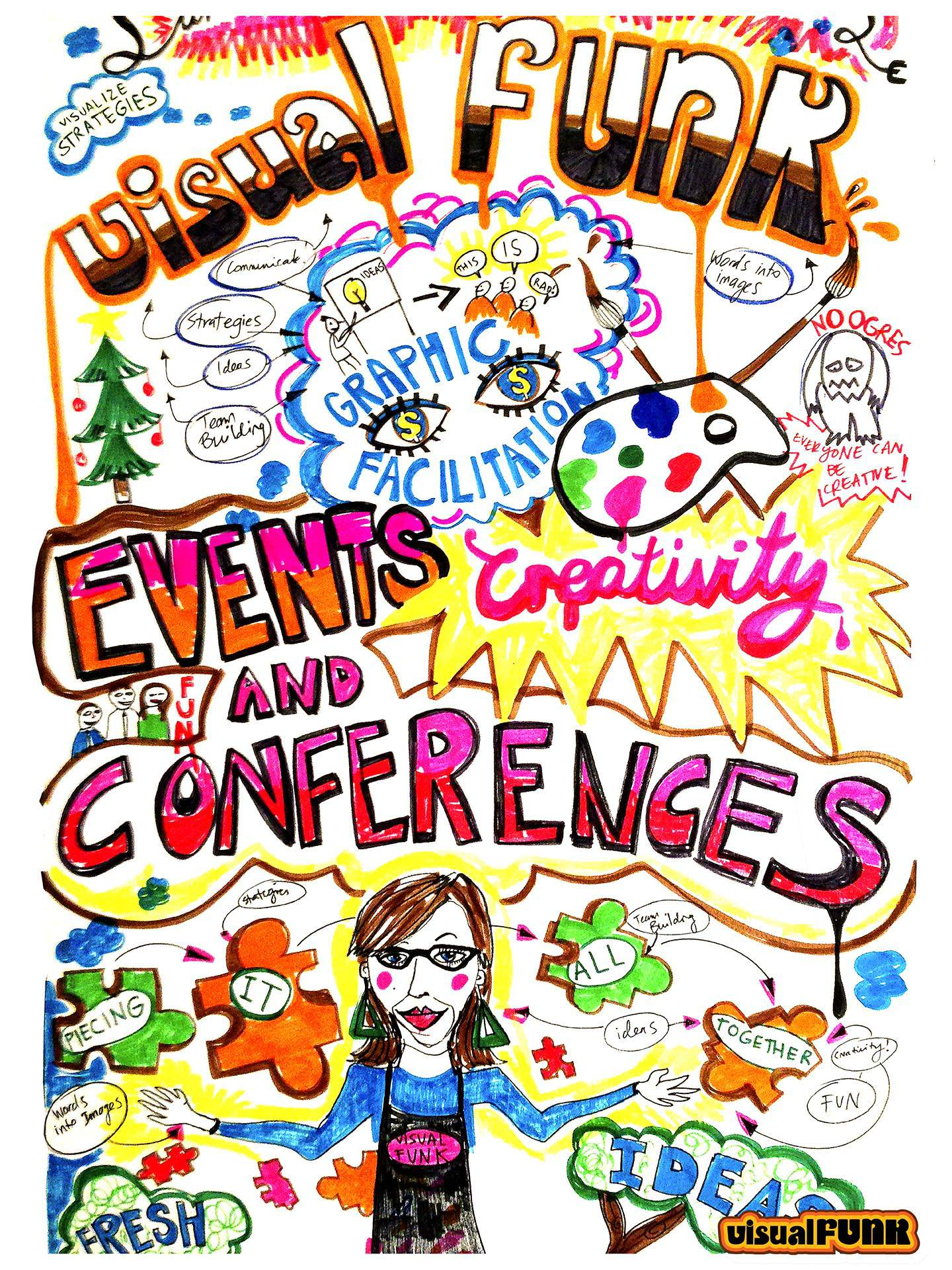 Events & Conference VF graphic facilitation