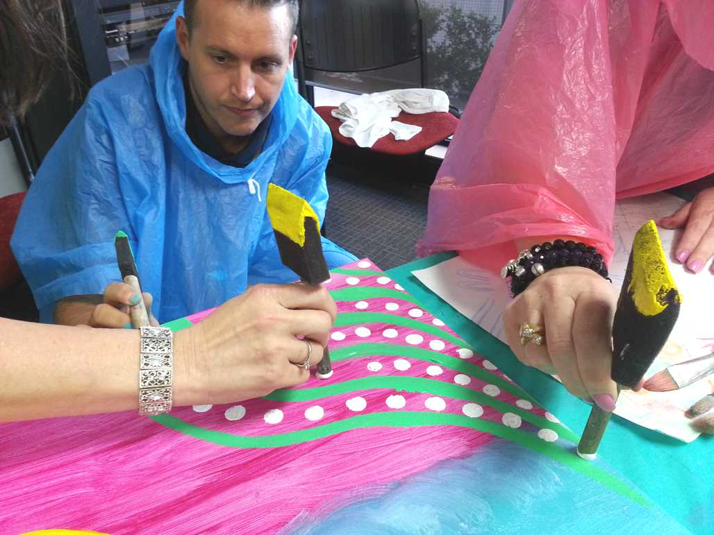 creative art colours