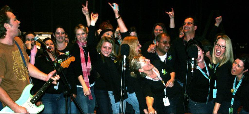 Rock Inc 4 singing