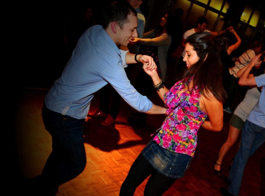 salsa party fun