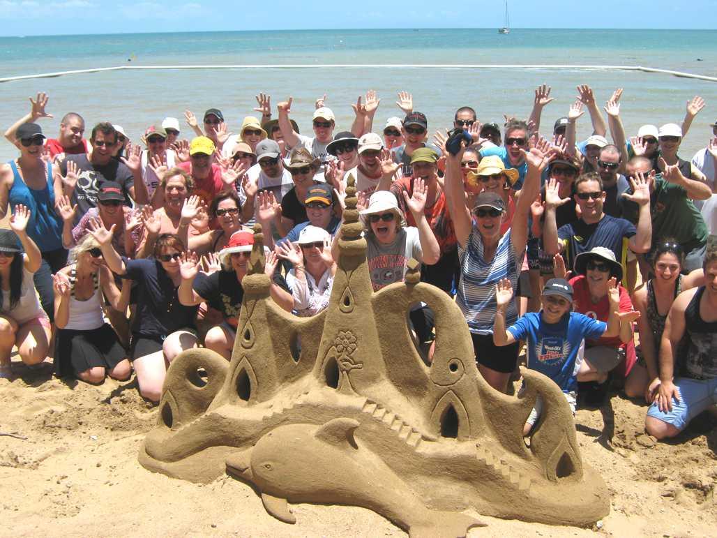 Sand Sculpting Glory