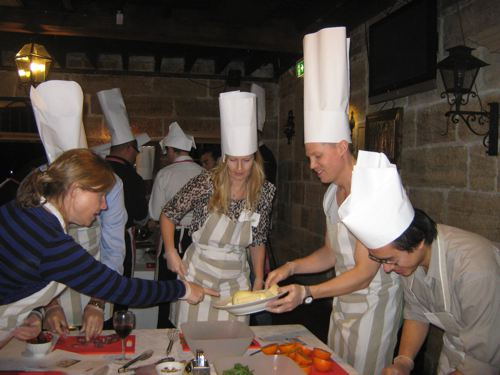 team cooking image