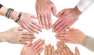 team hands image