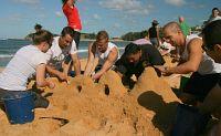 Sand trivia creativity