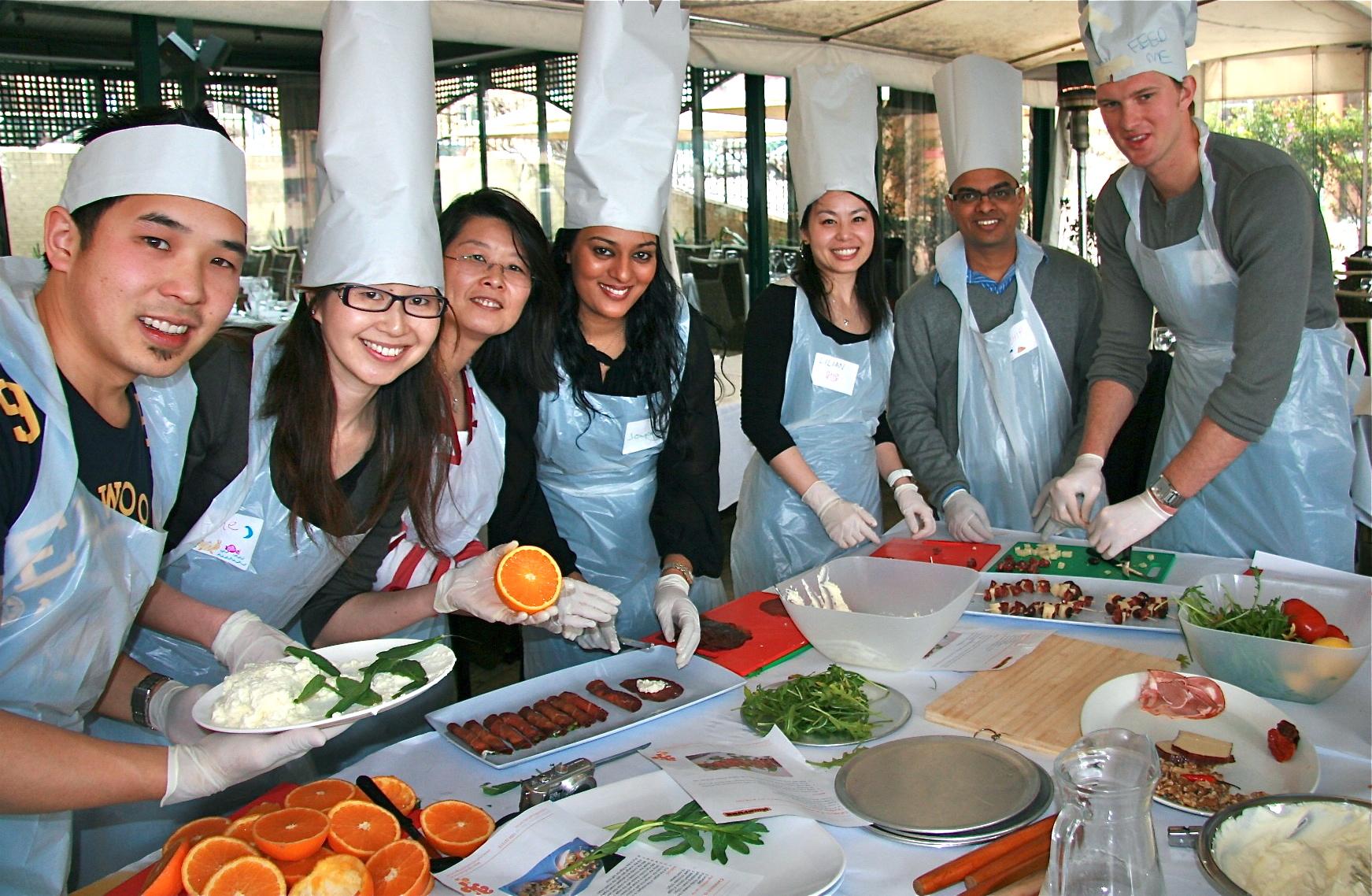 cooking programs team building